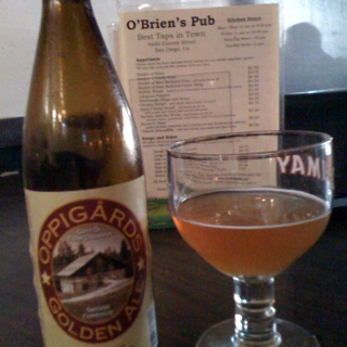 Oppigards Golden Ale