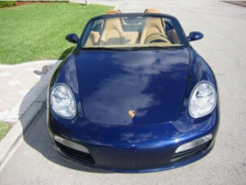 Cash For Clunkers >> Lizard's Lair: 2005 Boxster, Midnight Blue Metallic, Beige Sand interior